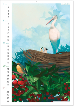 calendario Rebelot Maggio 2012