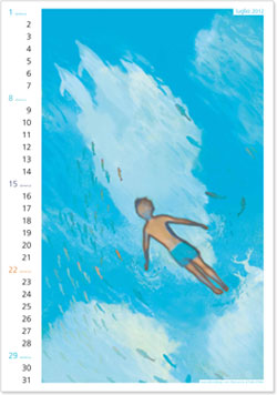 Calendario Rebelot Luglio 2012
