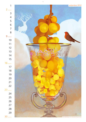 Calendario Rebelot Settembre 2012