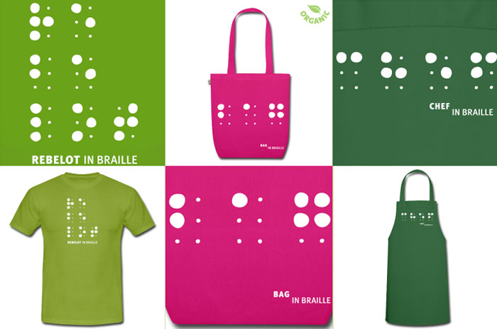 Braille Products by Rebelot