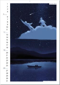 Calendario Rebelot Agosto 2012