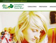 Consultorio Luisa Riva | Do&Ma | website | 2015